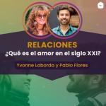 Yvonne Laborda con Pablo Flores
